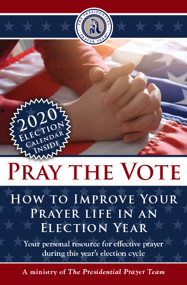 pray the vote prayer guide 2020