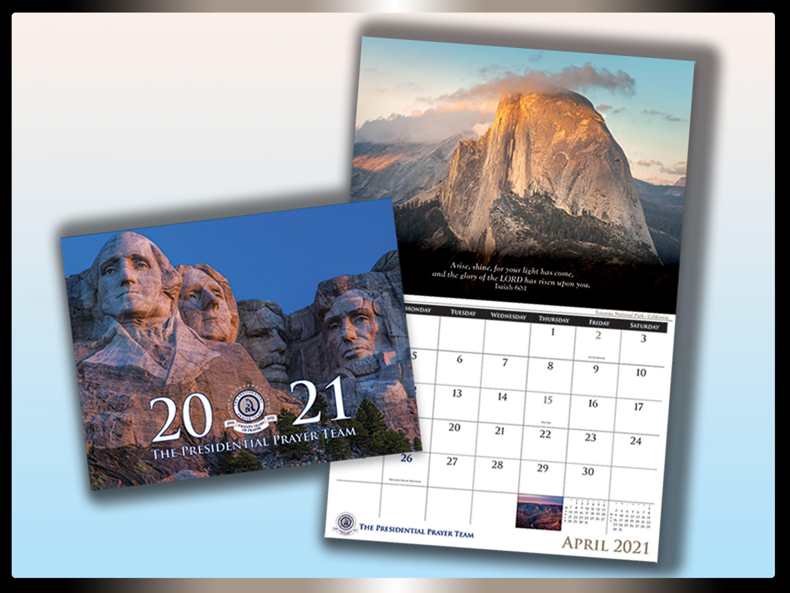2021 Official Calendar