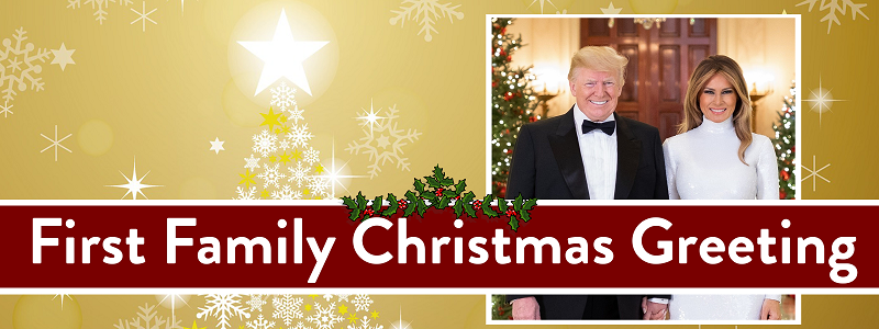First Family Christmas Greeting