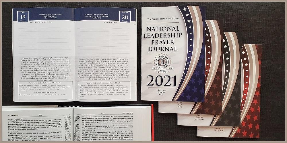 2021 Prayer Journal Full Set