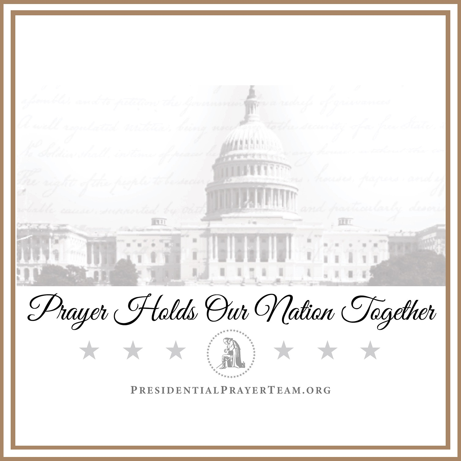 Prayer Holds Our Nation Together