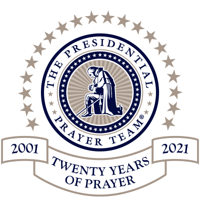 Logo Twenty Years of Prayer
