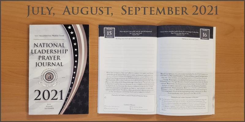 2021 Volume 3 Prayer Journal